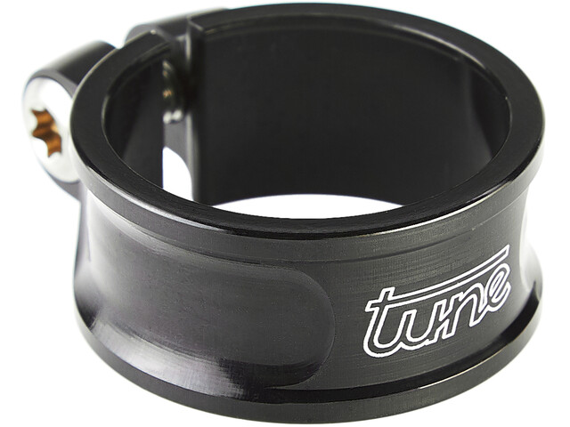 Tune Schraubwürger Collier de tige de selle Ø30mm, black